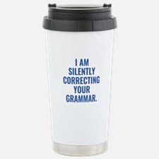 I Am Silently Correcting Your Grammar Ceramic Trav