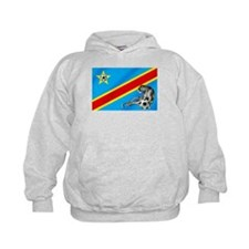 Congo (DRC) soccer football Hoodie