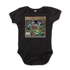 Cute Dungeons dragons Baby Bodysuit