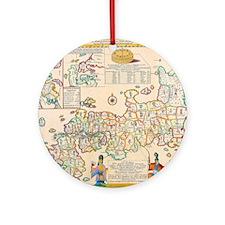 Cool Geschenk Round Ornament