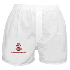 The Man The Myth The Psychologist Boxer Shorts