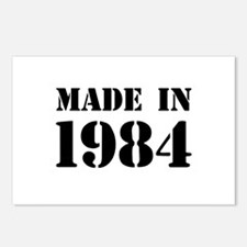 Made in 1984 Postcards (Package of 8)