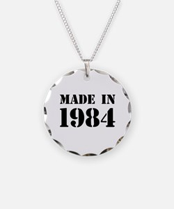 Made in 1984 Necklace