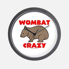 Wombat Crazy Clock