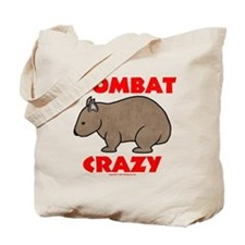 Wombat Crazy Tote Bag
