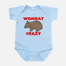 Wombat Crazy Infant Bodysuit