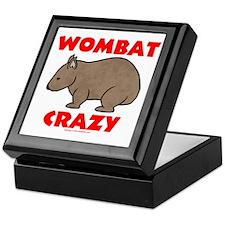 Wombat Crazy Keepsake Box