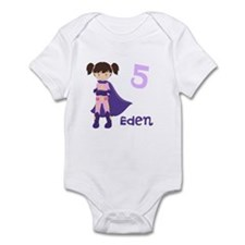 Superhero Girl Infant Bodysuit