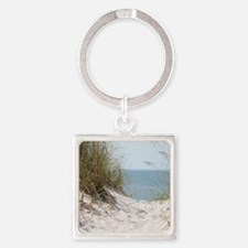 Cute Willow Square Keychain