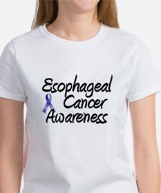 Esophagael Cancer Awareness Women's T-Shirt