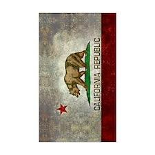 Cute Usa flag bear Decal