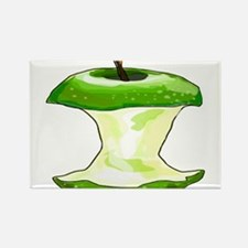 Green Apple Core Magnets