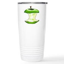 Green Apple Core Travel Mug