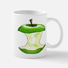 Green Apple Core Mugs