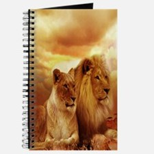 Africa Lion and Lioness Journal