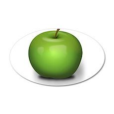 Green Apple Wall Decal