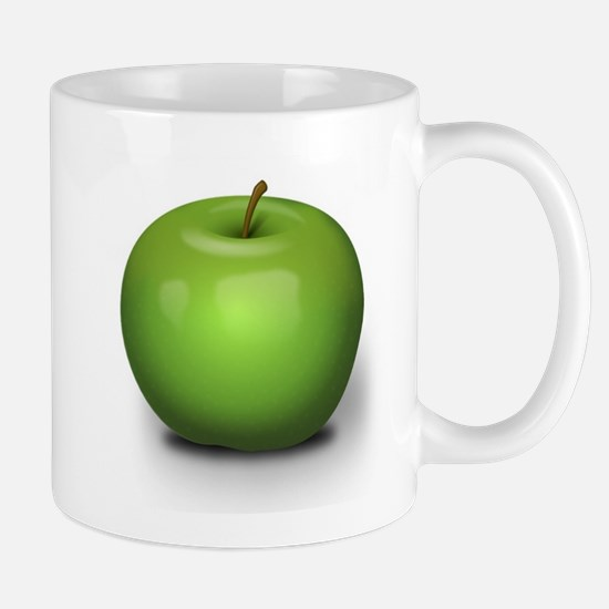 Green Apple Mugs