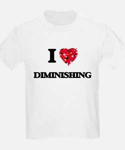 I love Diminishing T-Shirt