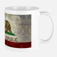 State flag of California, retro vintage style Mugs
