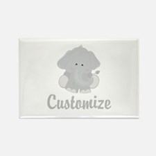 Baby Elephant Rectangle Magnet (100 pack)