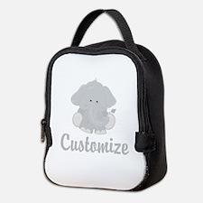 Baby Elephant Neoprene Lunch Bag