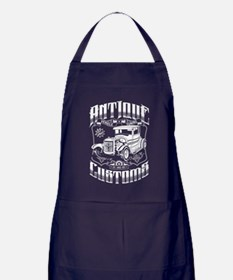 Hot Rod - Antique Customs (white) Apron (dark)