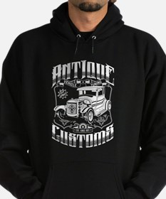 Hot Rod - Antique Customs (white) Hoody