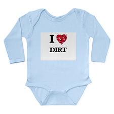 I love Dirt Body Suit