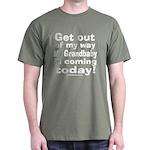 Grandbaby coming today! Dark T-Shirt