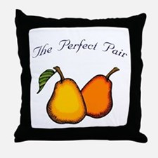 The Perfect Pair Throw Pillow