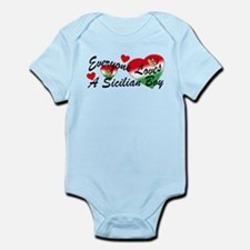 Loves a Sicilian Boy Infant Bodysuit