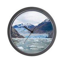 Sawyer Glacier Alaska Wall Clock