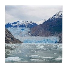 Sawyer Glacier Alaska Tile Coaster