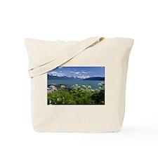 Funny Alaska cruise Tote Bag
