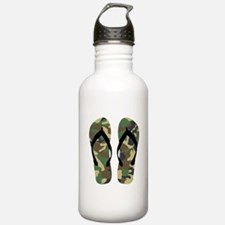 Camouflage Flip Flop Fun Summer Vacation Art Water