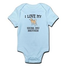 I Love My Shiba Inu Brother Body Suit