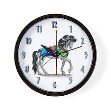 The Carousel Clock Wall Clock