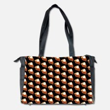 Pumpkin Pie Pattern Diaper Bag