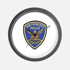 San Francisco PD Wall Clock