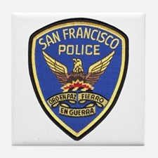 San Francisco PD Tile Coaster