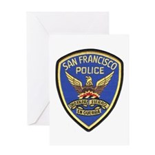 San Francisco PD Greeting Card