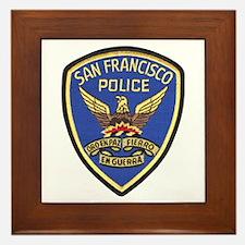 San Francisco PD Framed Tile