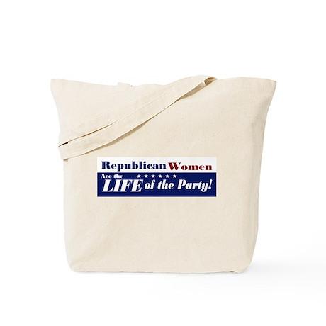 Republican Women Tote Bag
