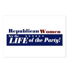 Republican Women Postcards (Package of 8)