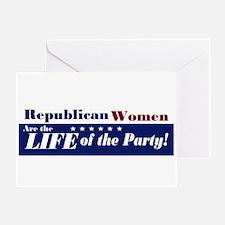 Republican Women Greeting Card