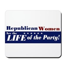 Republican Women Mousepad