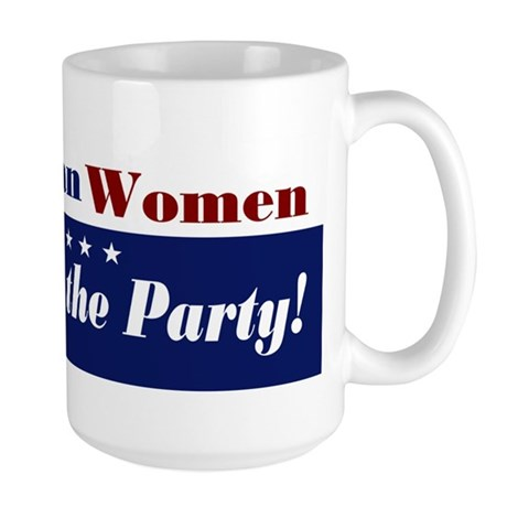 Republican Women Large Mug