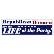 Republican Women Bumper Bumper Sticker