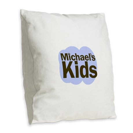 MICHAELS KIDS Burlap Throw Pillow by htwfgifts