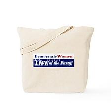 Democratic Women Tote Bag